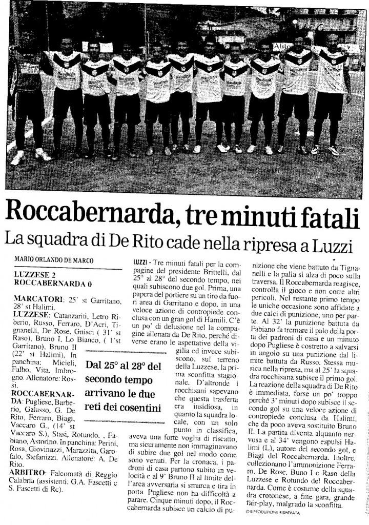 Luzzese - Roccabernarda