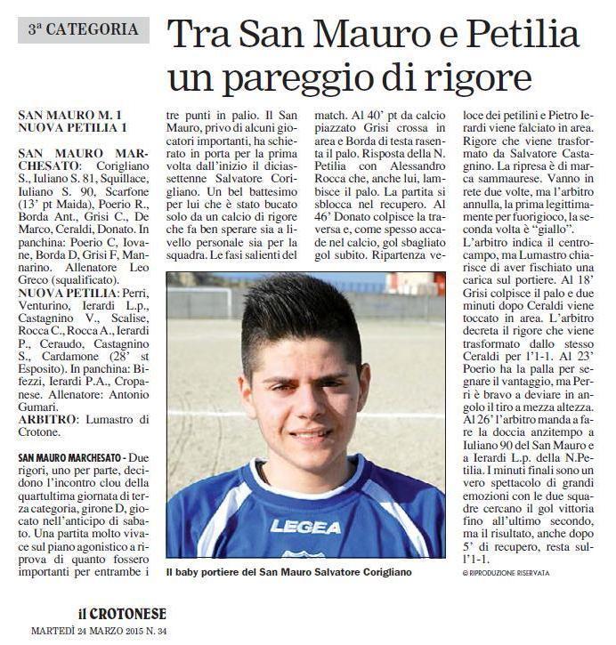 San Mauro - Petilia