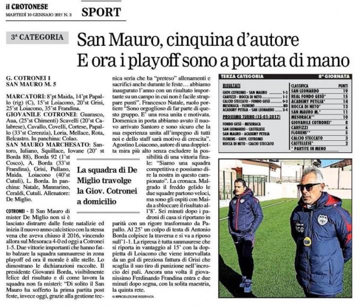 G. Cotronei San Mauro 1-5