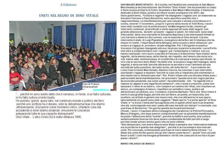 X ed Dino Vitale. Ipg